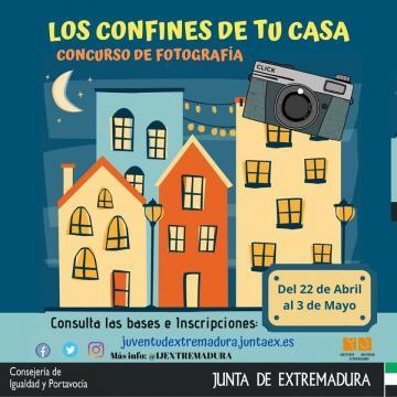 EL IJEX CONVOCA EL CONCURSO DE FOTOGRAFÍA LOS CONFINES DE TU CASA