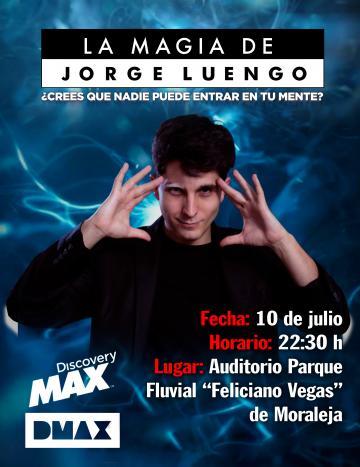 MAGIA A CARGO DE JORGE LUENGO