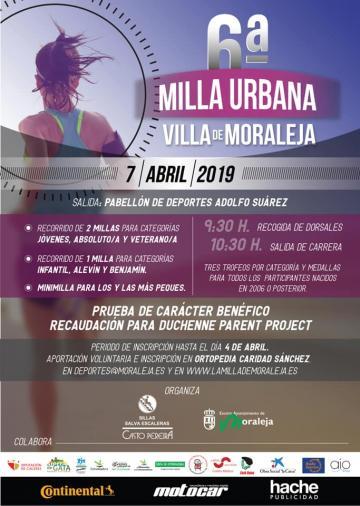 6ª MILLA URBANA VILLA DE MORALEJA