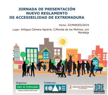 JORNADA DE PRESENTACIÓN NUEVO REGLAMENTO DE ACCESIBILIDAD DE EXTREMADURA