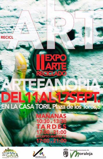 II EXPOSICIÓN ARTE RECICLADO #ArteFANOpia