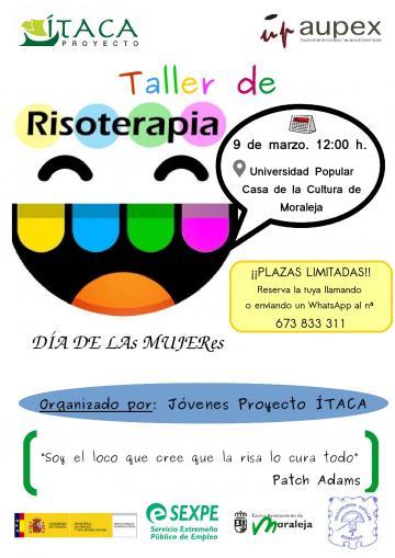TALLER DE RISOTERAPIA