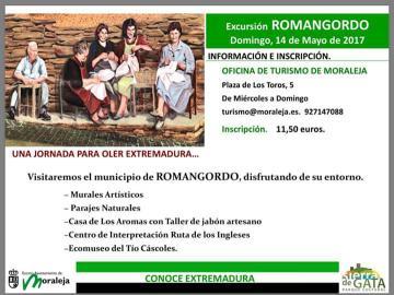 EXCURSIÓN ROMANGORGO, DOMINGO 14 DE MAYO DE 2014