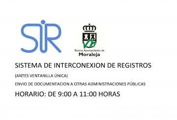 SISTEMA DE INTERCONEXIÓN DE REGISTRO (SIR)