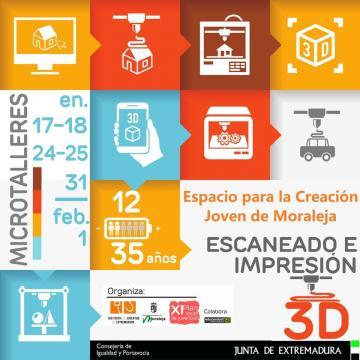 TALLER ESCANEADO E IMPRESIÓN 3D