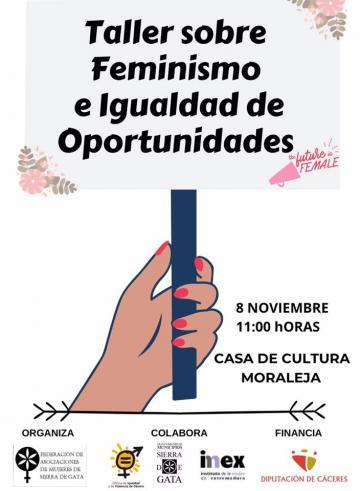 TALLER SOBRE FEMINISMO E IGUALDAD DE OPORTUNIDADES