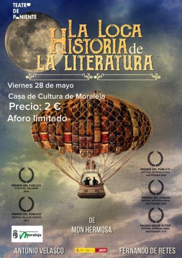 "TEATRO ""LA LOCA HISTORIA DE LA LITERATURA"""