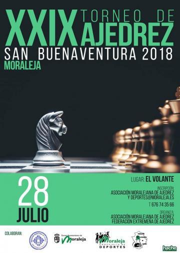XXIX TORNEO DE AJEDREZ SAN BUENAVENTURA 2018