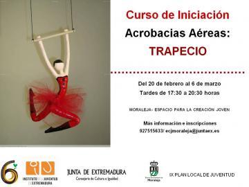 CURSO INICIACIÓN ACROBACIAS AÉREAS: TRAPECIO