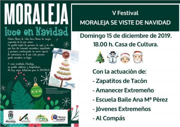 V FESTIVAL NAVIDEÑO- MORALEJA SE VISTE DE NAVIDAD