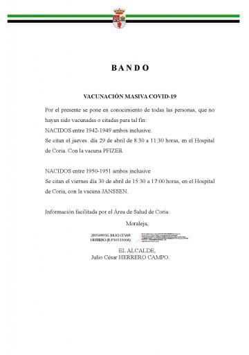 VACUNACIÓN MASIVA COVID-19